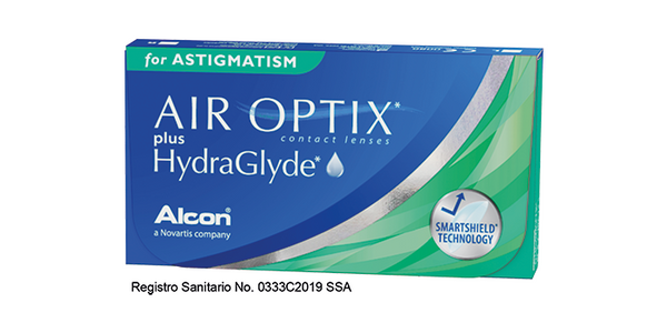 AIR OPTIX PLUS HYDRAGLYDE para Astigmatismo
