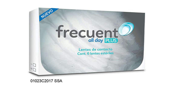 Lentes de contacto Frecuent All Day Plus