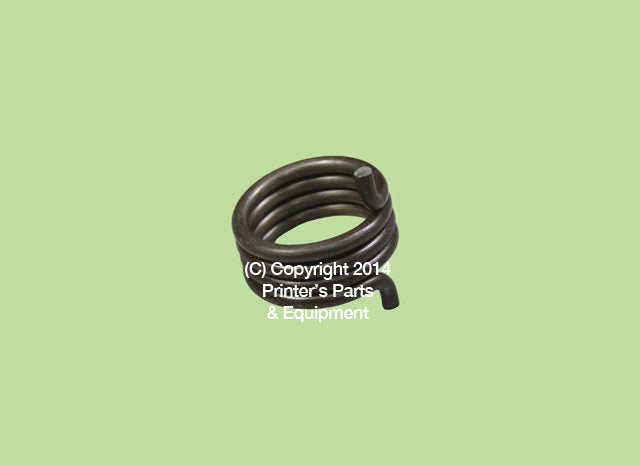 Torsion Spring for Heidelberg HE-M2-009-026/03_Printers_Parts_&_Equipment_USA