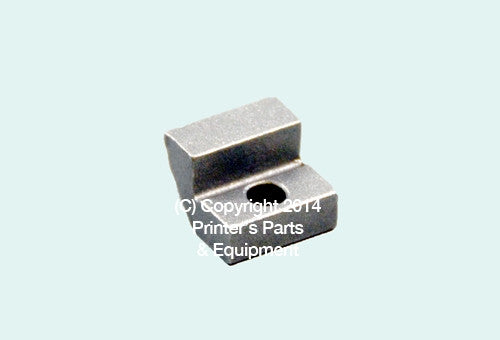 Heidelberg Parts Chain Delivery Pad Metal for Speedmaster_Printers_Parts_&_Equipment_USA