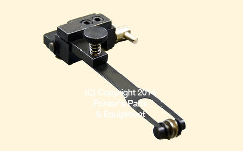 Heidelberg Parts Paper Feed Assembly Bracket Long