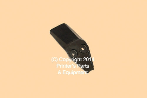 Black Transport Finger for Muller Martini Plastic 235-1156_Printers_Parts_&_Equipment_USA