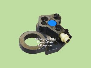 Roller Lever Blue Right Side HE-1145_Printers_Parts_&_Equipment_USA
