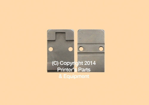 Clincher Plate Thin for 26D Stitcher Head_Printers_Parts_&_Equipment_USA