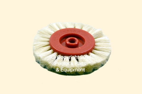 Feeder Brush Wheel White K/S/M/SB Series and Speedmaster_Printers_Parts_&_Equipment_USA