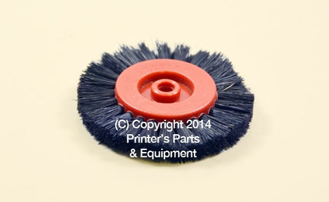 Feeder Brush Wheel Black Cardboard Stock K/S/M/SB Series