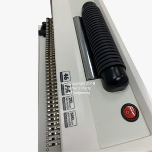 Coil Manual Binding Machine with Electrical Inserter S20A with Pliers_Printers_Parts_&_Equipment_USA