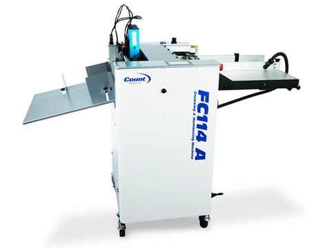 Count FC114A Digital Air Feed Creasing Numbering Machine