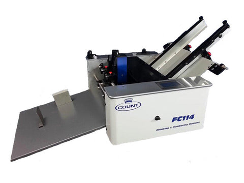 Count FC114 Digital Friction Feed Creasing Numbering Machine