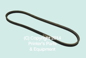 Belt 1/2″ x 5/16″ x 37″ for Polar 72 HE-4L370_Printers_Parts_&_Equipment_USA