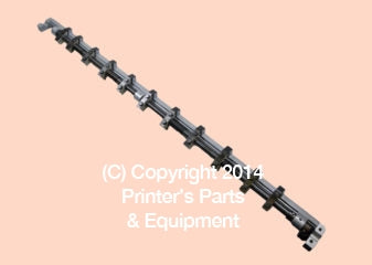 Heidelberg Parts Gripper Bar Assembly for SBB / SBD L_Printers_Parts_&_Equipment_USA
