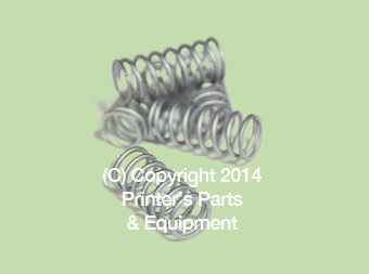 Compression Spring – UN (66.010.062)_Printers_Parts_&_Equipment_USA