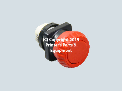 Emergency Stop Button for GTO 52 00.780.2316_Printers_Parts_&_Equipment_USA