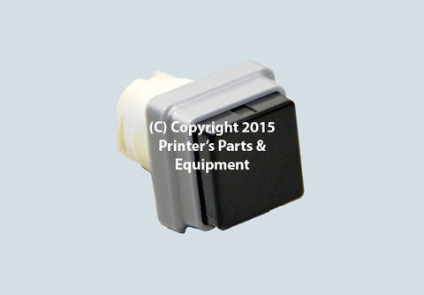 Black Push Button_Printers_Parts_&_Equipment_USA