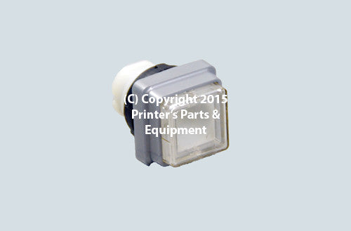 White Push Button for Heidelberg_Printers_Parts_&_Equipment_USA