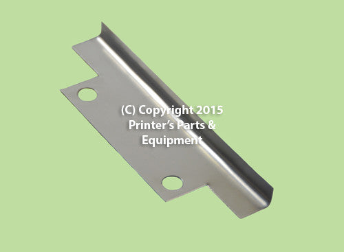Plate Clamp Tension Strip Corner Cut 134mm 2 Holes_Printers_Parts_&_Equipment_USA