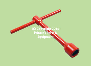 Wrench T Box Spanner 19mm Short Dampening On/Off 03.024.006_Printers_Parts_&_Equipment_USA