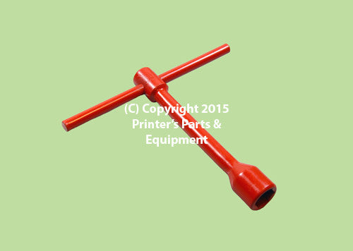 Wrench T Socket Box Spanner for Blanket 17mm Short 09.024.010_Printers_Parts_&_Equipment_USA