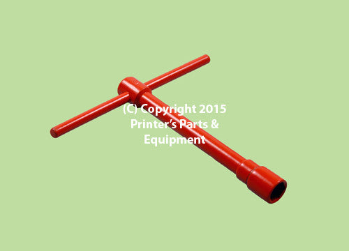 Wrench T Socket Box Spanner for Blanket 13mm Short 42.024.007_Printers_Parts_&_Equipment_USA