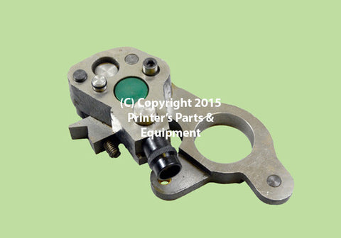 Dampening Bearing Support GTO 46/52 D.S. Lower/Green 42.030.003_Printers_Parts_&_Equipment_USA