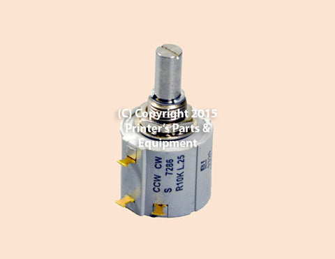 Potentiometer Switch Rotary 71.186.5172