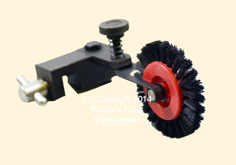 Brush Wheel Assembly Short Black for Board #12 Left 83.010.014HBAL