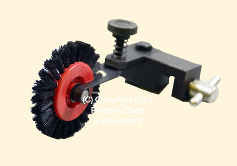 Brush Wheel Assembly Short Black for Board #12 Right 83.010.014HBA_Printers_Parts_&_Equipment_USA
