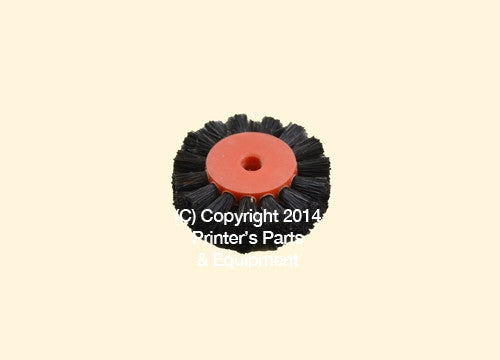 Feeder Brush Wheel 35mm x 5mm pin Hard_Printers_Parts_&_Equipment_USA