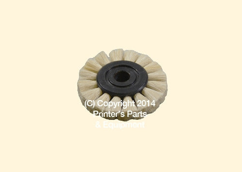 Feeder Brush Wheel 45mm x 6mm Soft_Printers_Parts_&_Equipment_USA