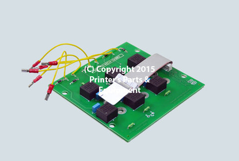 Circuit Board Power Bridge Module 80A for MO 91.101.1051
