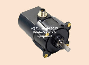 Motor 60 B 286:1 4.4: 1 30 RPM 1.5Nm 24V DC 61.144.1121_Printers_Parts_&_Equipment_USA