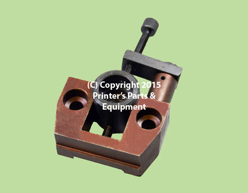 Ink Distributor Adjusting Block & Journal Assembly D.S. K Series_Printers_Parts_&_Equipment_USA