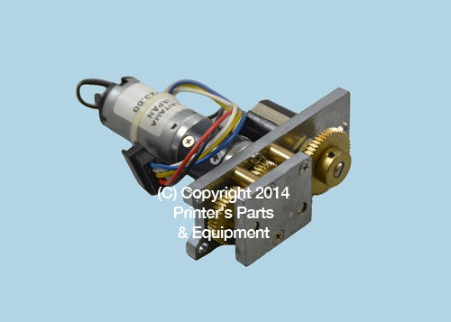 Ink Key Motor Assembly For KOMORI K-30402_Printers_Parts_&_Equipment_USA