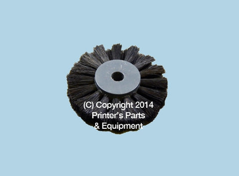 FEEDER BRUSH FOR KOMORI BOARD / BLACK