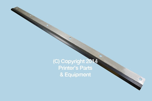 Wash Up Blade for Komori Lithrone 26/ Sprint 26 - 6 Holes_Printers_Parts_&_Equipment_USA