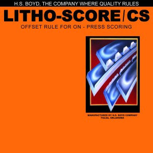 HS Boyd Litho-Score / CS 10-Foot Roll Center Series Rules_Printers_Parts_&_Equipment_USA