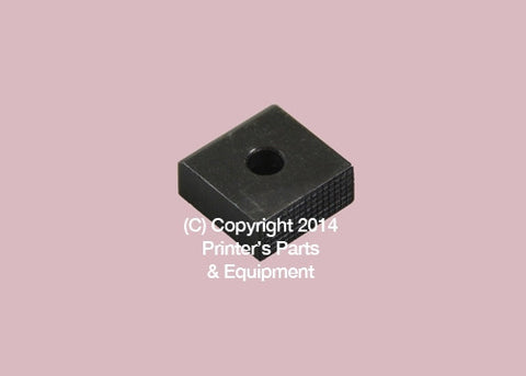 Impression Cylinder Pad for Miller 8mm x 19mm x 19mm