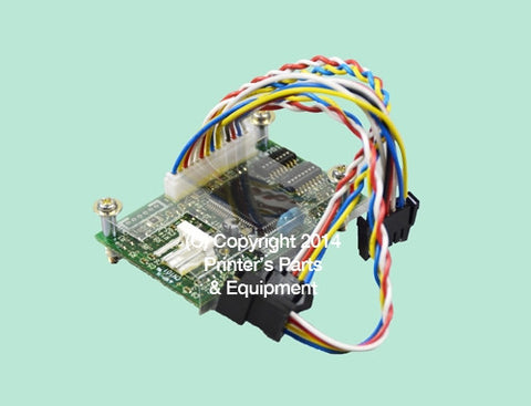 Board API for Ink Key Motor Mitsubishi 1F 3F_Printers_Parts_&_Equipment_USA
