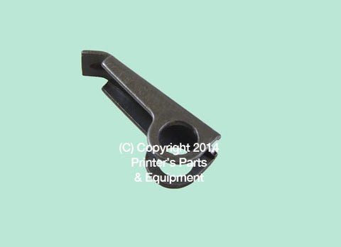 Gripper finger for Mitsubishi 71mm long x 15mm Hole Diameter