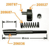 Load image into Gallery viewer, Latch Pin Assembly for Polar Cutter False Clamp, 206036_Printers_Parts_&_Equipment_USA