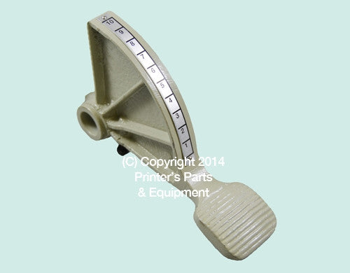 Foot Pedal Polar Cutter MDL115CE_Printers_Parts_&_Equipment_USA