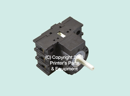 Polar Cutter Power Switch, 227128, 226193_Printers_Parts_&_Equipment_USA