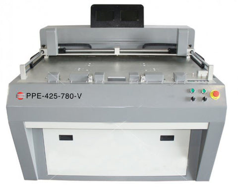 Universal Pneumatic Plate Punch Bender Combo Unit with Monitors and Magnifying Systems