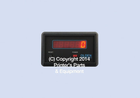 Digital Electronic Counter Model TC