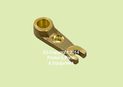 Ductor Arm Ink and Water Old Style Brass M.78.43_Printers_Parts_&_Equipment_USA