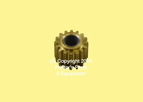 Idler Gear for Night Latch Brass_Printers_Parts_&_Equipment_USA