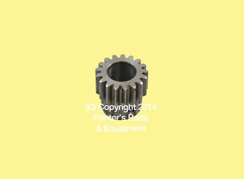 Drive Gear Main for Hamada H.M05.04.3_Printers_Parts_&_Equipment_USA
