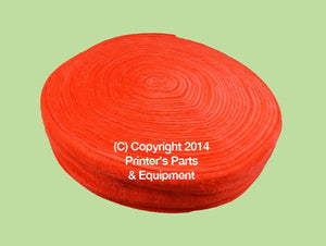 Dampening Cover Red for S & SM Series_Printers_Parts_&_Equipment_USA