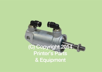 Pneumatic Cylinder (HE-00-580-4127/03)_Printers_Parts_&_Equipment_USA