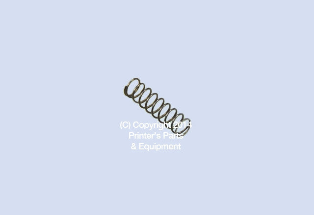 Compression Spring For Stahl Folder ZD.200-442-01-00